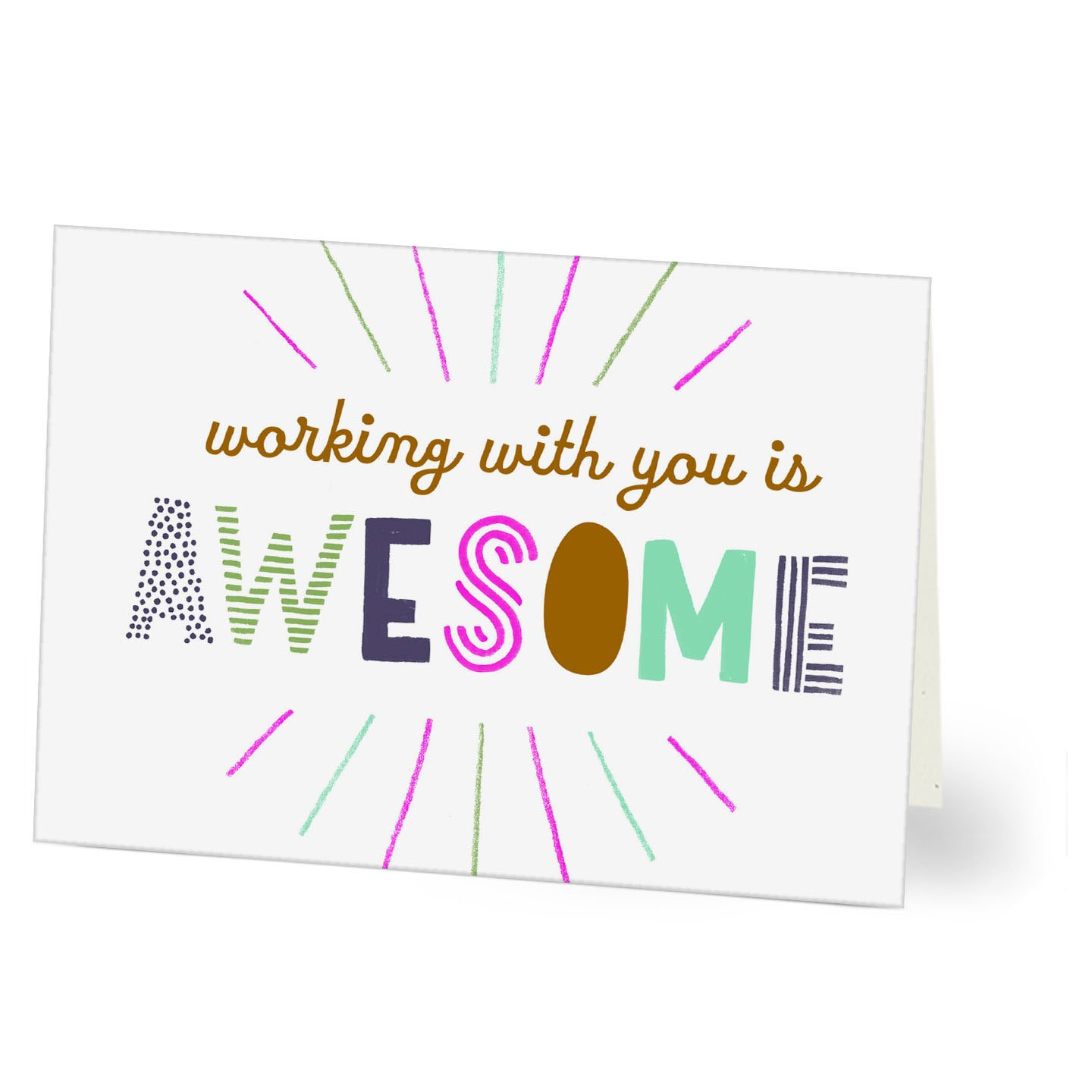 hallmark work anniversary card awesome pack of 25